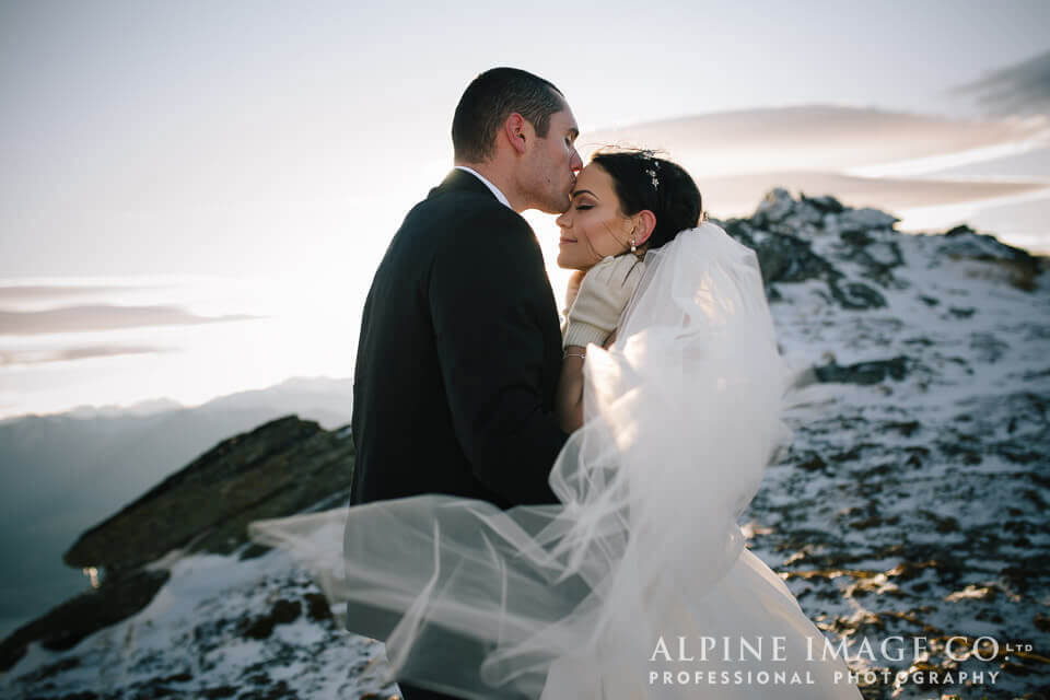Mel + Josh's Intimate Queenstown Wedding