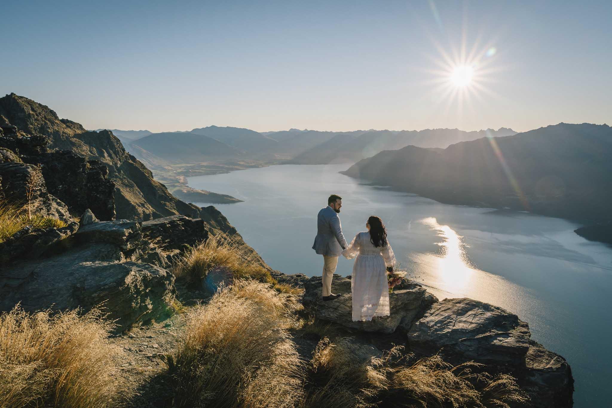Heli Mountain Wedding Package