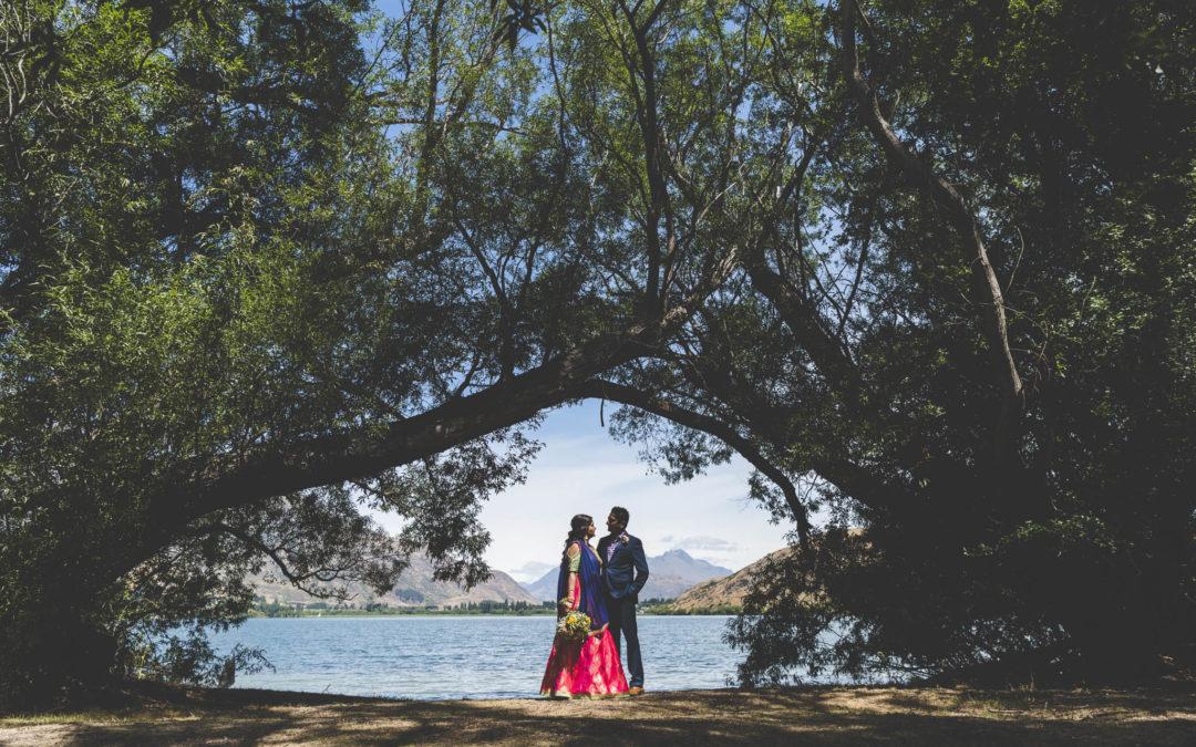 Ritesh + Reshma's Heli Wedding
