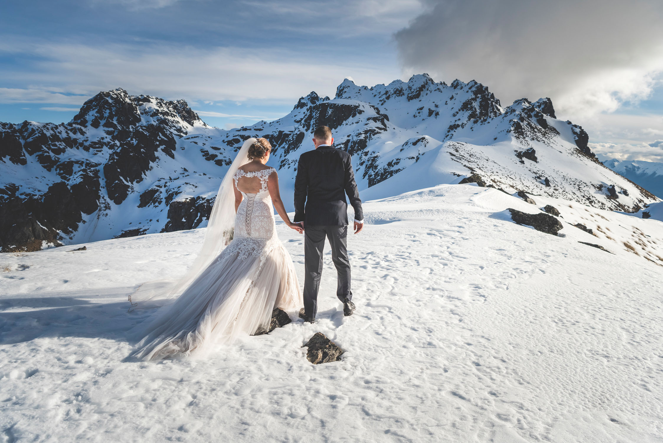Winter Mountain Wedding