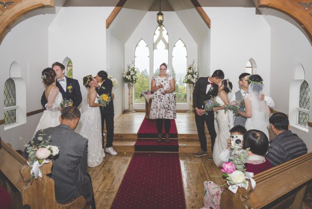 Chapel Wedding Queenstown