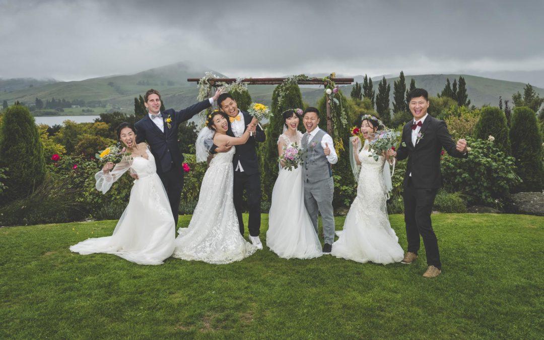 Quad Wedding at Stoneridge Estate