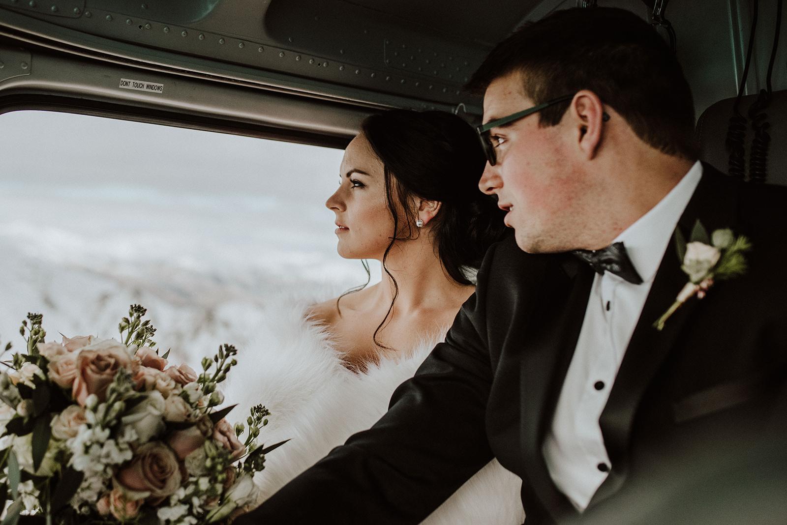 Queenstown Heli Wedding