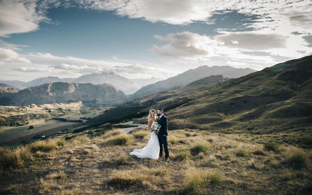 Kat + Riki's Lake Hayes Wedding